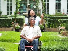 Portrait Of Couple Senior In T...