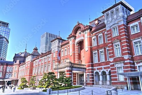 Spoed Foto op Canvas Tokio 東京駅