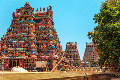 Staande foto Temple Temple of Sri Ranganathaswamy in Trichy.