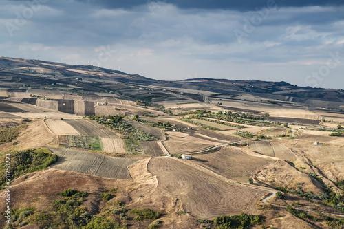 Photo Paesaggio visto dal centro storico di Calitri, Avellino, Italy