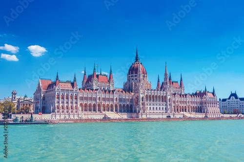 Keuken foto achterwand Boedapest Budapest parliament building