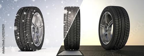 Fotografia  Summer Winter Tires