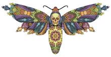 Zentangle Stylized Butterfly. ...