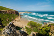 Robberg Nature Reserve, landscape wonderful beach and indian ocean waves, Garden route, between Knysna and Plettenberg bay. South Africa
