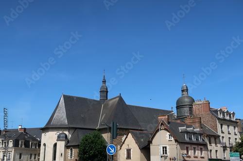 Foto op Canvas Australië Buildings of Rennes, France