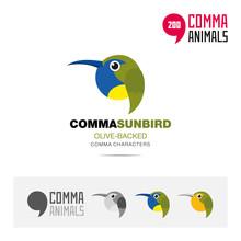 Olive Backed Sunbird Bird Conc...