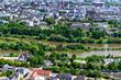 Panoramablick auf Trier - Über ein Jahrhundert nach AD 286 Trier war die bevorzugte Residenz römischer Kaiser.