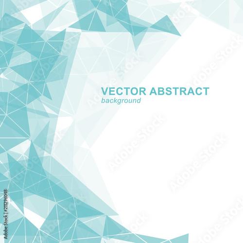 Fotografie, Obraz  Vector fractal background.