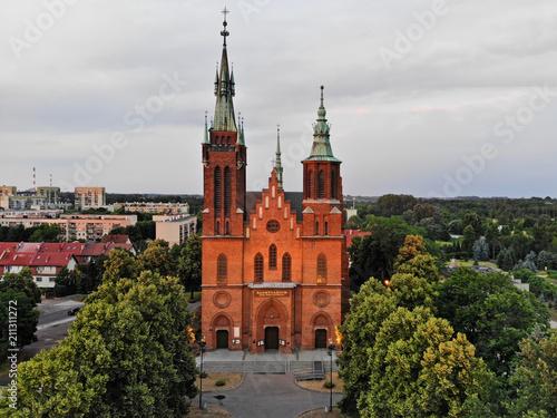 Fototapeta Parafia św. Wojciecha w Łodzi obraz