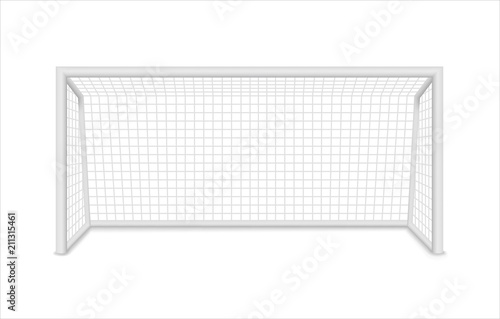 Football goal. Soccer goal. Vector Tapéta, Fotótapéta