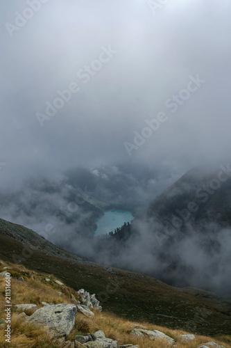 Foto op Plexiglas Donkergrijs landscape