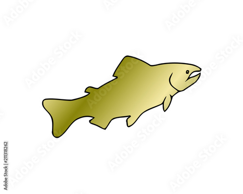 Coral Reef Tropical Fish Vector Illustration Vector Sea Fish