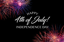 Happy JUly 4th Greeting With B...