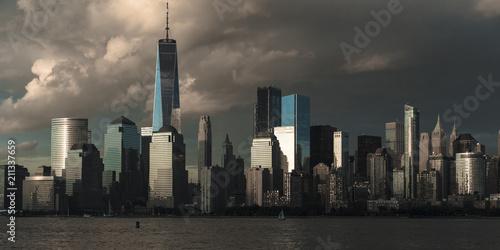JUNE 4, 2018 - NEW YORK, NEW YORK, USA  - New York City Spectacular Sunset focus Poster
