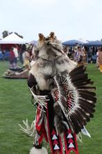 Chumash Indian Dancer Performs...