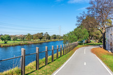 Walking Path And Cycling Trail...