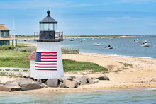 Brant Point Lighthouse On The ...