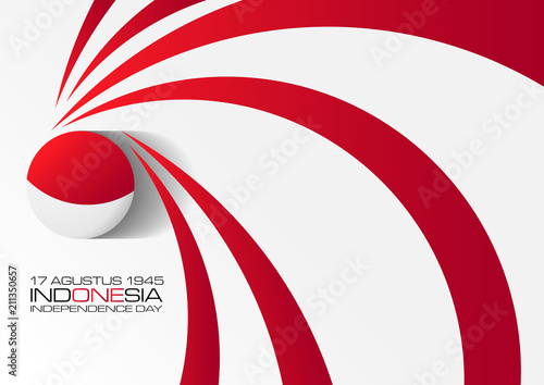 Papel de parede  17 agustus 1945, indonesian independenc day poster, beautiful poster or backgrou