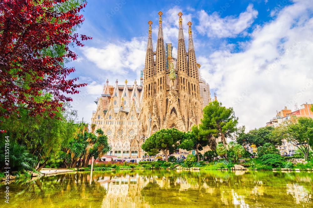 Fototapety, obrazy: La Sagrada Familia