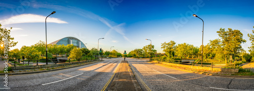 Photo Avebury boulevard panorama in Milton Keynes, Buckinghamshire