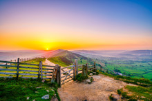 Sunrise Of The Great Ridge At ...