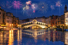 Rialto Bridge And Garnd Canal ...