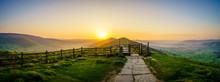 The Great Ridge At Sunrise In ...