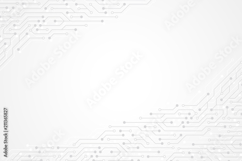 Fotografía  Abstract technology background with circuit board texture