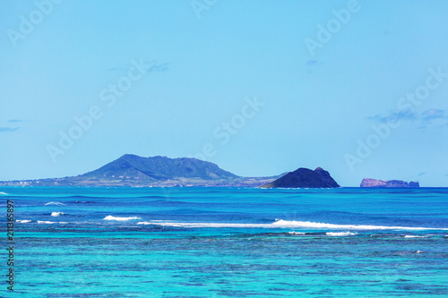 Staande foto Oceanië Oahu