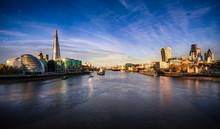 London Skyline Viewed Across R...