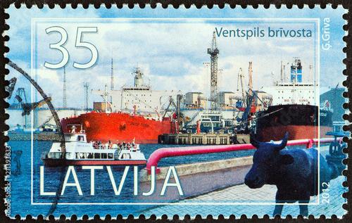 Fotografia  Ventspils, Latvian Port (Latvia 2012)