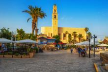 Tel Aviv, Israel, Ancient Ston...