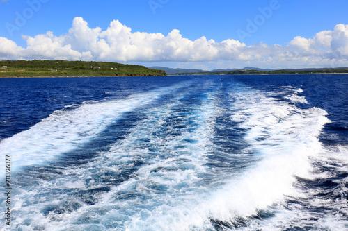 Tuinposter Zee / Oceaan 美しい沖縄の海と夏空