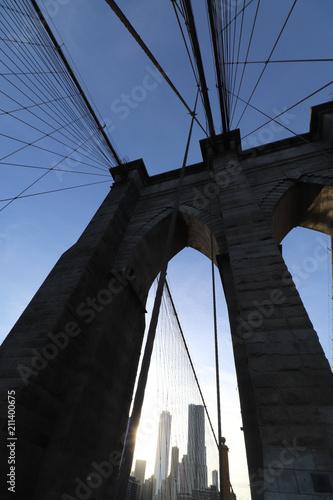 Deurstickers Brooklyn Bridge brooklyn bridge