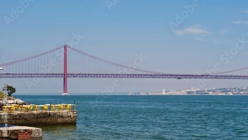 Poster Bridges Pont du 25 avril, Lisbonne, Portugal