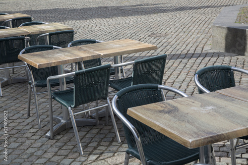 Photo  Cafe Table and Chairs, Copenhagen