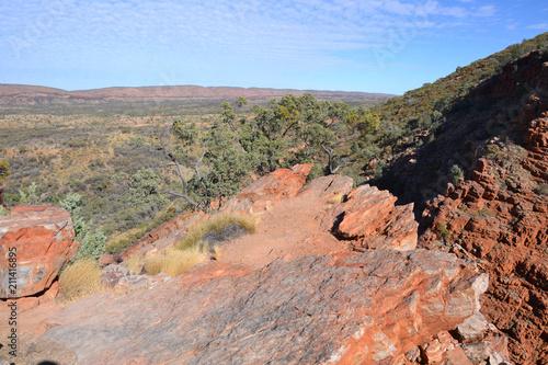 Deurstickers Zalm Australia Serpentine Gorge