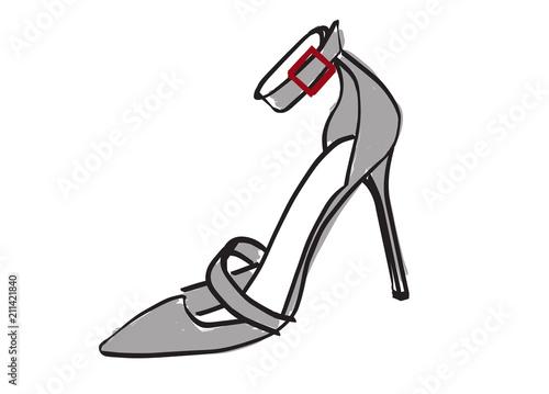 Fotografia  High heel shoe