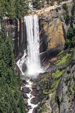 Vernal Falls From Washburn Point - Yosemite National Park, California, USA