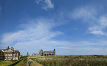 Panorama Of Whitby Abbey, Whitby, North Yorkshire, UK - Sep 2017