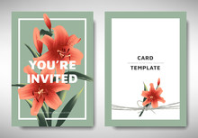 Greeting/invitation Card Templ...