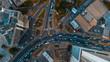 Leinwanddruck Bild - aerial view of the haven of peace, city of Dar es Salaam