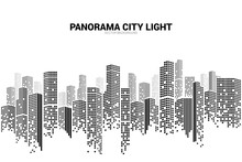 Panorama City Building Backgro...
