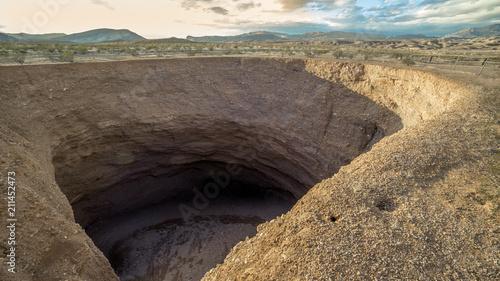 Fotografie, Obraz The Devil's Throat Sinkhole, Gold BUtte National Monument