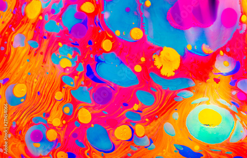 Fotobehang Pop Art Abstract marbling art patterns as colorful background