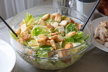 Bowl Of Cesar Salad