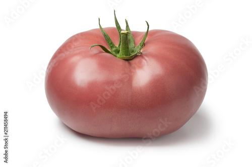 Fresh ripe pink beef tomato Canvas-taulu