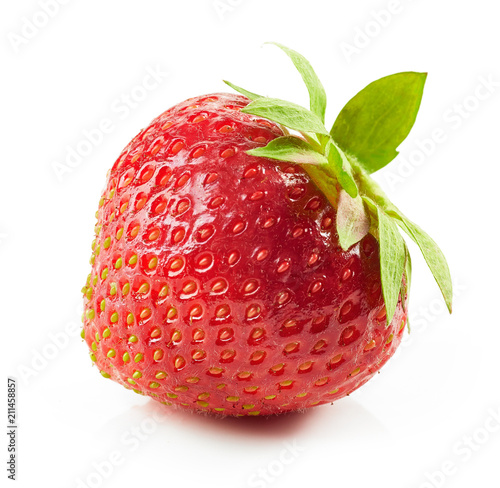 Foto op Aluminium Vruchten fresh red strawberry