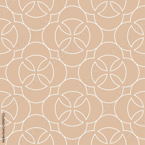 bezowy-i-bialy-nadruk-geometryczny-wzor