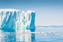 Big Icebergs In Ilulissat Icefjord, Greenland